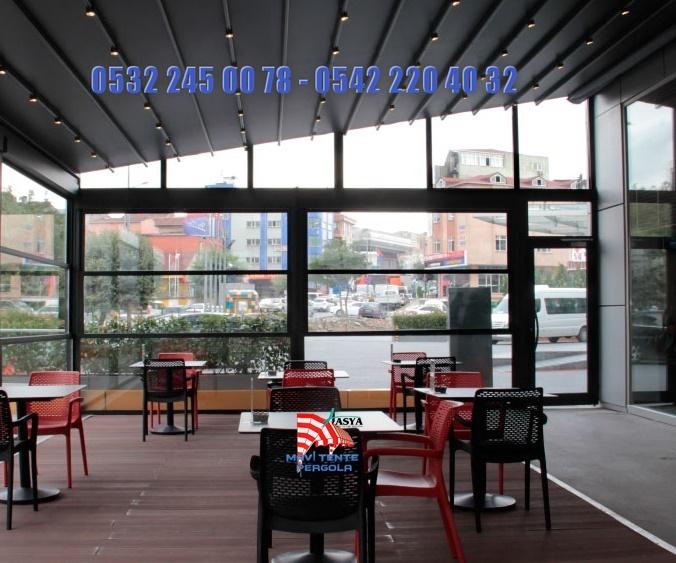 Mavi, pergola tente, Extra dünya, Extra mekan, 05322450078, Eşikli, EşiksizSürme