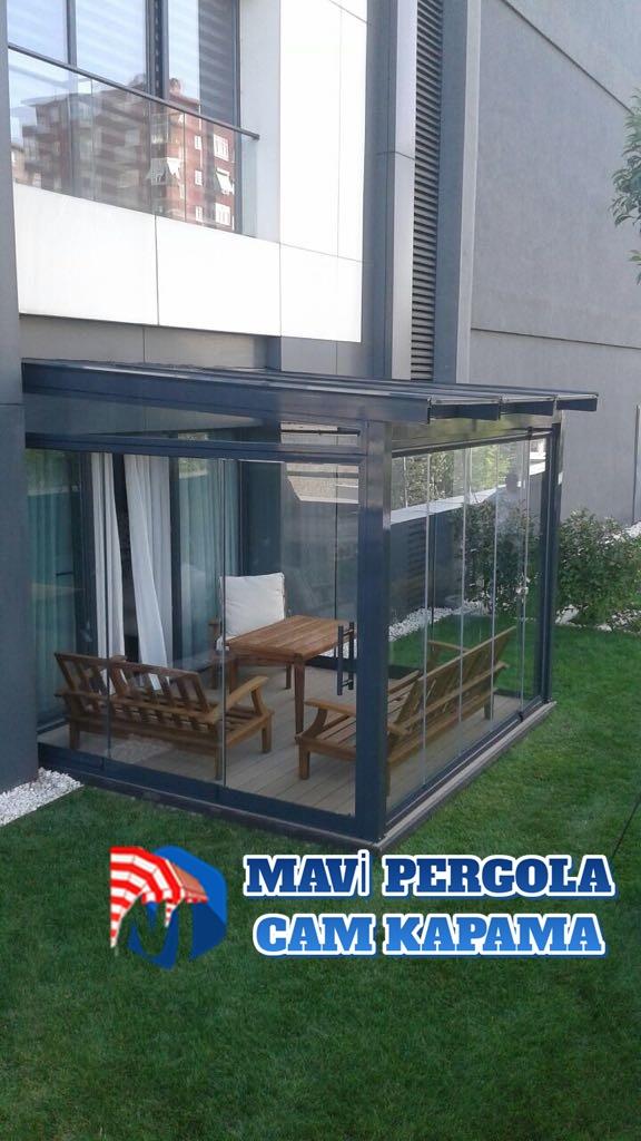 Mavi, pergola tente, 05322450078, Açılır CamTavan