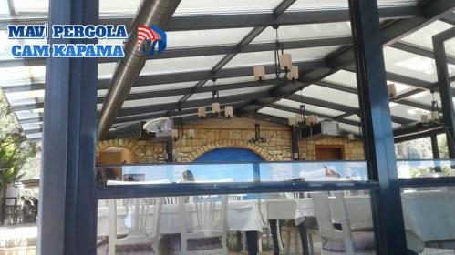 CAM KAPAMA, GİYOTİNLİ CAM SİSTEMLERİ ,Mavi, pergola tente, 0532 245 00 78,