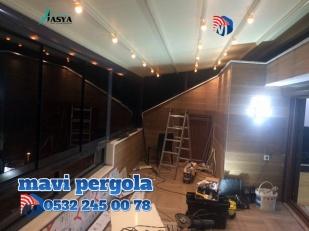Mavi, pergola tente ,Extra dünya, Extra mekan, pergola, tente, 0532 245 00 78,
