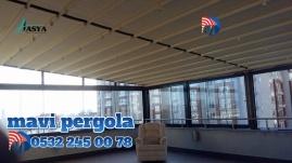 Mavi, pergola tente, 05322450078, Fermuarlı Branda