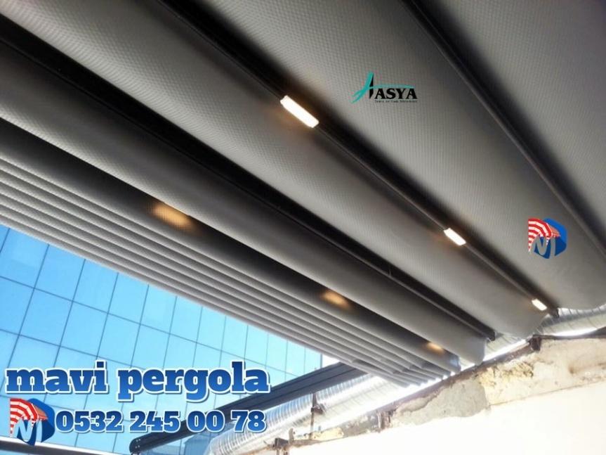 Mavi, pergola tente, Extra dünya, Extra mekan, pergola, tente, 0532240078