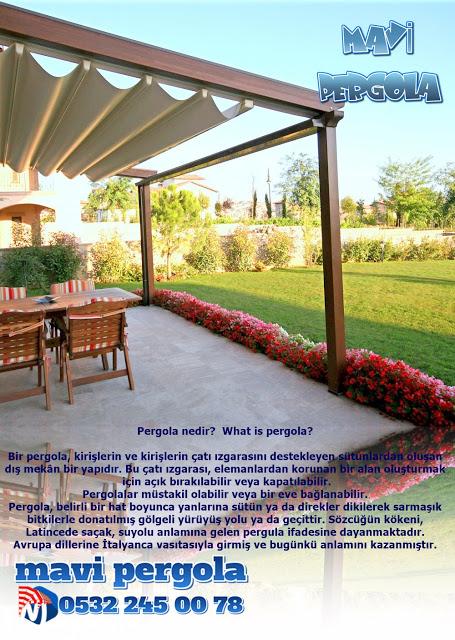 Pergola nedir? , What is pergola? , Mavi pergola, 0532 245 00 78